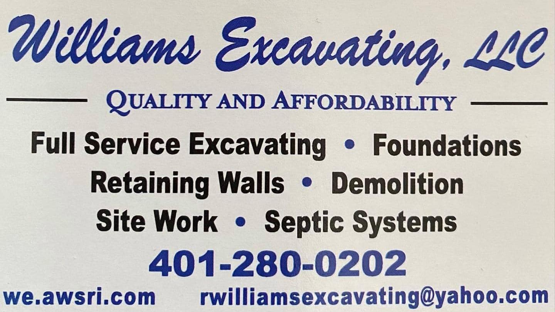 Williams Excavation LLC